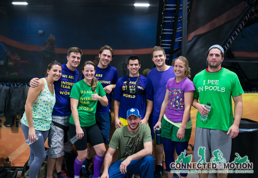 Connected in Motion: Trampoline Dodgeball 2013