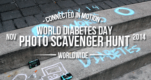 Event Recap: World Diabetes Day Photo Scavenger Hunt 2014
