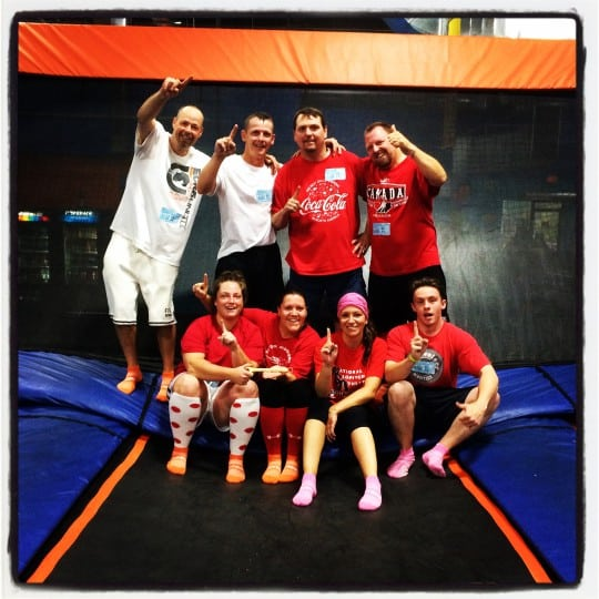 Trampoline Dodgeball- Team Ball Busters