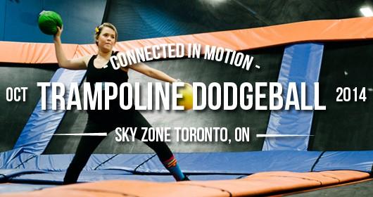 Event Recap: Trampoline Dodgeball 2014