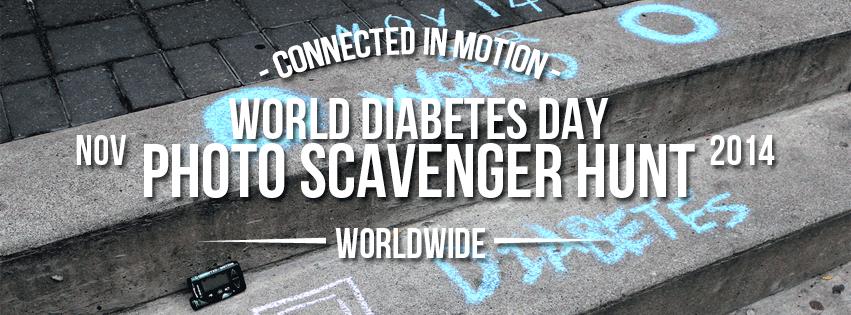Event Recap: World Diabetes Day Photo Scavenger Hunt 2014