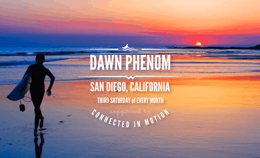 dawn phenom san diego connected in motion
