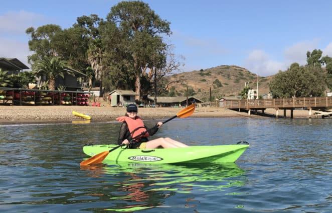Libby Kayaking