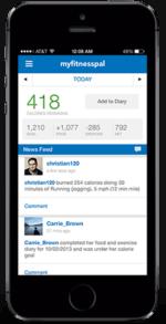 Diabetes App - MyFitnessPal