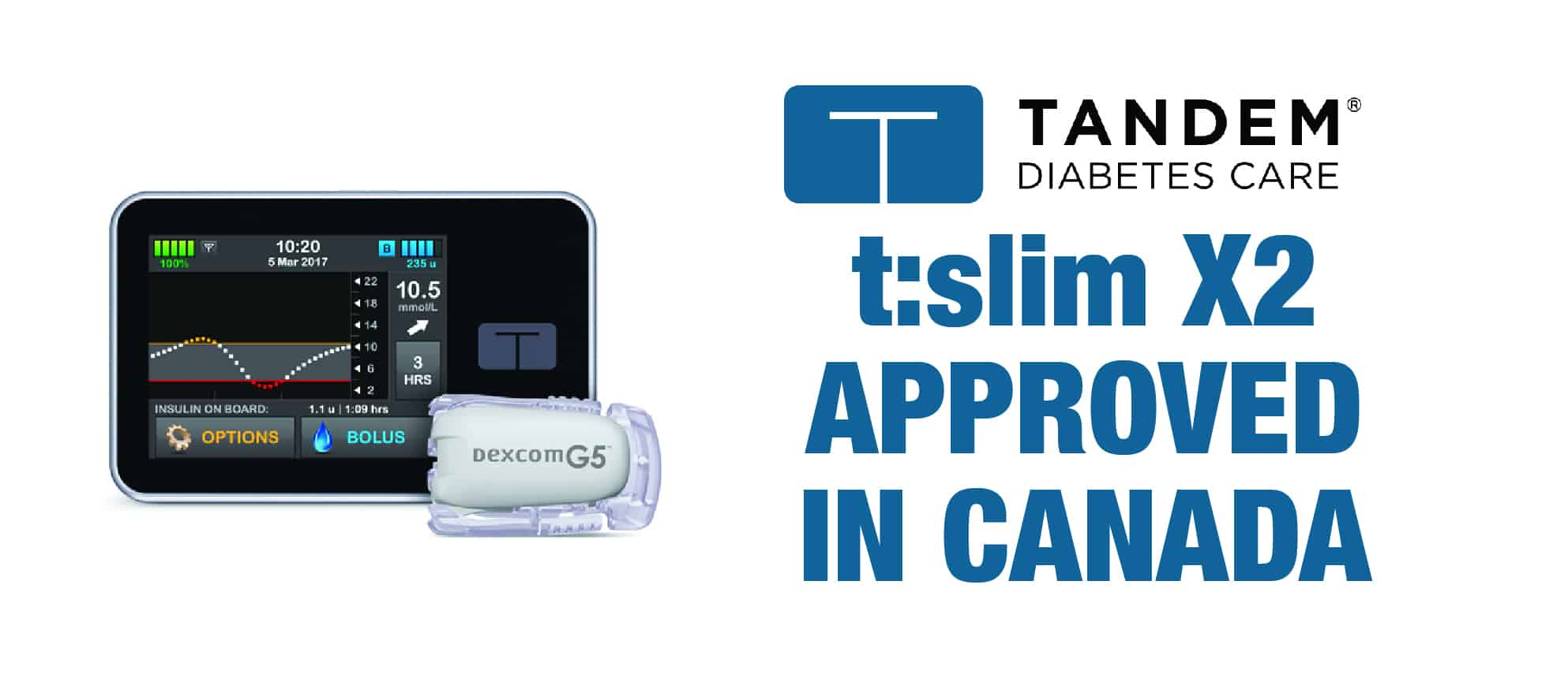 Tech Update: Tandem t:slim X2 Approved in Canada